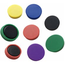 Magnets For Home School Office Assorted Colored Pack Of 12