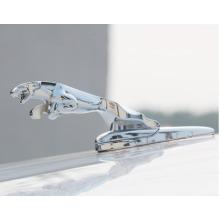 MODIFIX Genuine Modified Jaguar Leaping Cat Chrome Mascot Emblem Badge