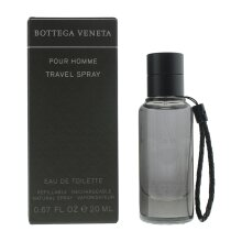 Bottega Veneta Pour Homme Travel Spray Eau de Toilette 20ml For Mens (UK)