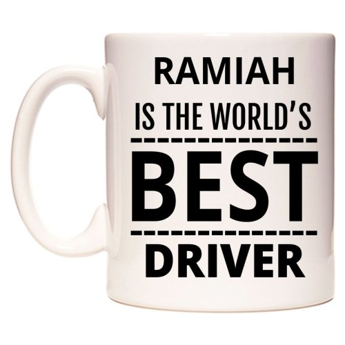 RAMIAH Is The World's BEST Driver Mug