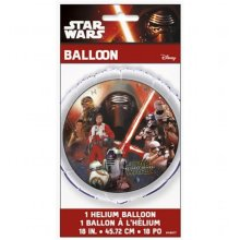 Star Wars 30342045 18 in. Star Wars The Force Awakens Foil Balloon