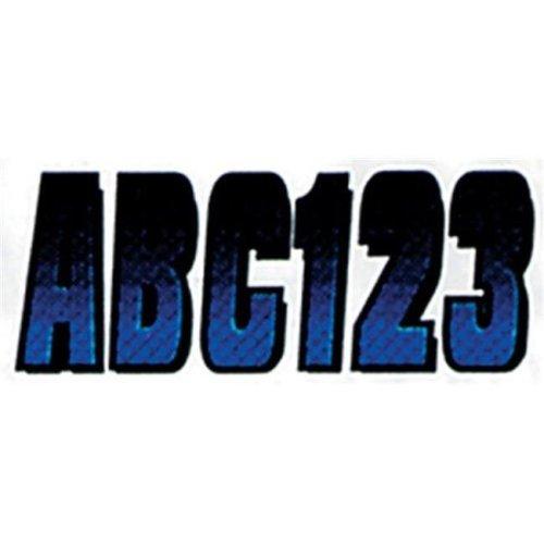 Hardline BLBKG300 3 in. Carbon Fiber Kits - Blue & Black