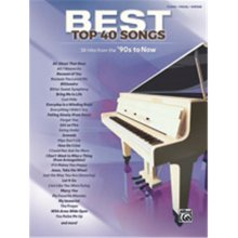 Alfred 00-44668 Best Top 40 Songs - 90s to Now