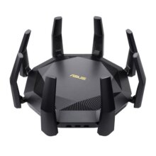 Asus (RT-AX89X) AX6000 Wireless Dual Band Router, 12-stream, MU-MIMO & OFDMA, AiMesh, Dual 10G Ports, SFP+, USB, Lifetime Free Internet Security