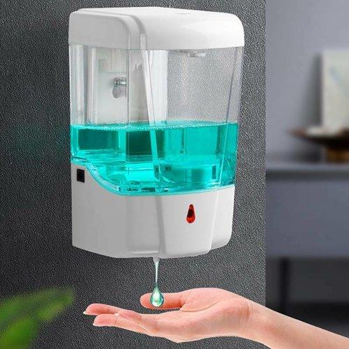 700ml Wall Mounted Touchless Automatic Soap Dispenser IR Sensor Pump