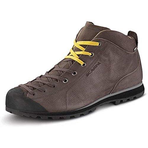 Scarpa Men's Mojito Basic MID GTX Low Rise Hiking Boots, Brown Gore-tex BN SYMBIOS Flat, 11 UK