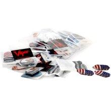 Viper Assorted Dimplex Dart Flights 50 Sets Of Mixed Standard And Slim Flights 150 Pieces