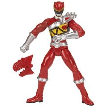 """Power Rangers Dino Charge - 4"""" Red Ranger Action Figure"""