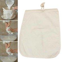 Reusable Coffee Juice Milk Filter Bag Food Strainer Filter