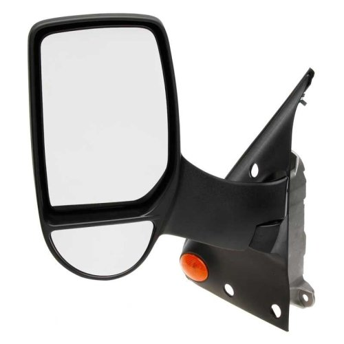 Ford Transit Van Mk7 4/2006-> Electric Long Arm Wing Door Mirror Passenger Side