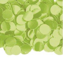 Confetti 1kg green deco wedding Hochzeitsdeko flame retardant Size