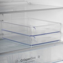 2 Clear Plastic Fridge Organiser Fruit Veg Rack Box Storage Tray