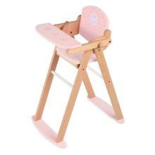 Tidlo Wooden Doll's High Chair