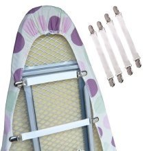 4pc Ironing Board Cover Clips   Ironing Board Clip Fasteners