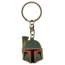 Star Wars Boba Fett Metal Keyring