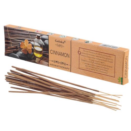 Goloka Incense Sticks - Cinnamon - Set of 12
