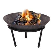 Cast Iron Fire Bowl Fire Pit - 50cm