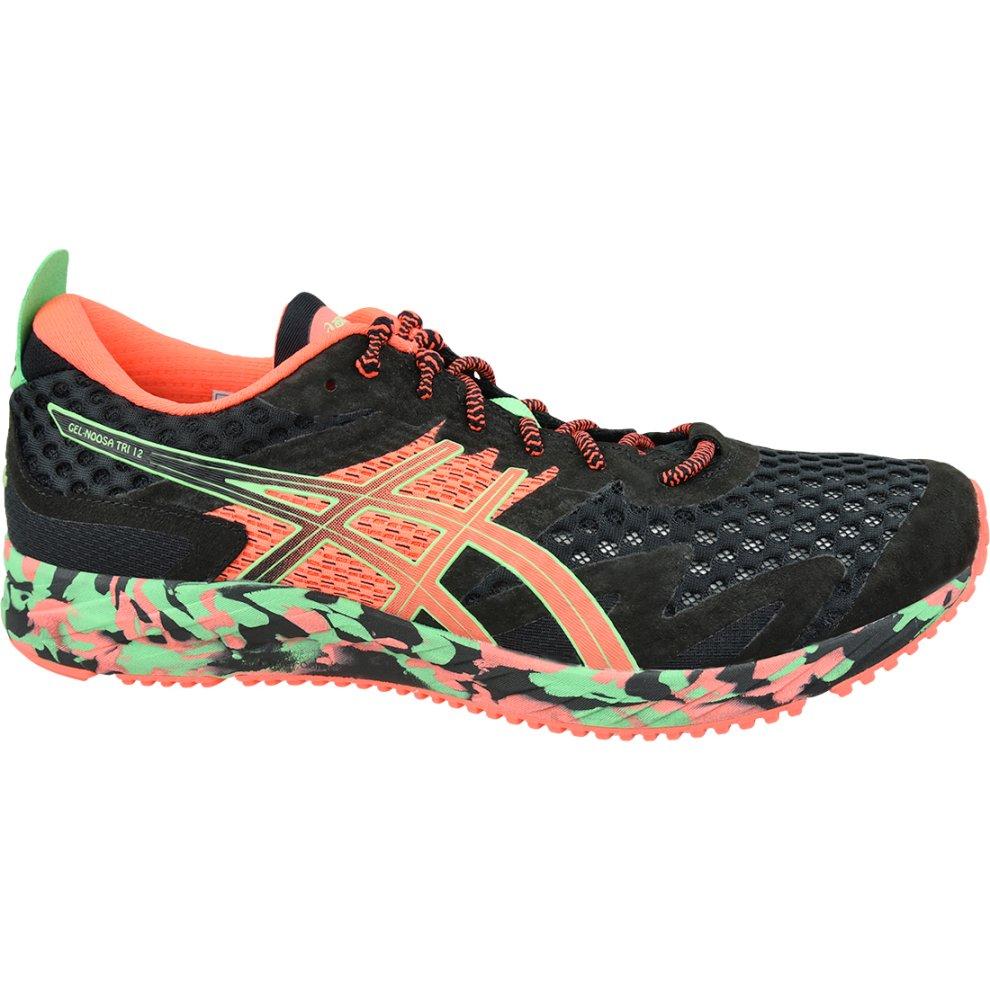 (10) Asics Gel-Noosa Tri 12 1011A673-001 Mens Black running shoes