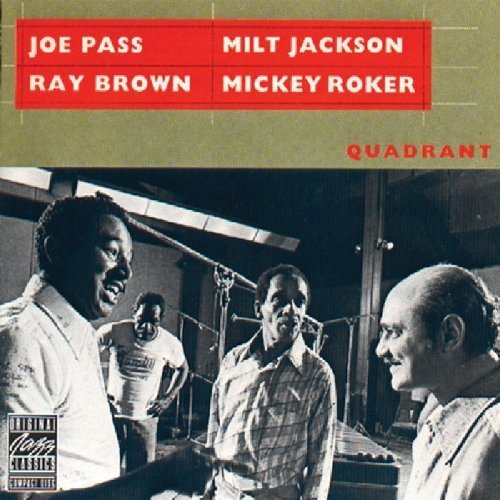 Milt Jackson, Ray Brown and Mickey Roker Joe Pass - Quadrant [CD]