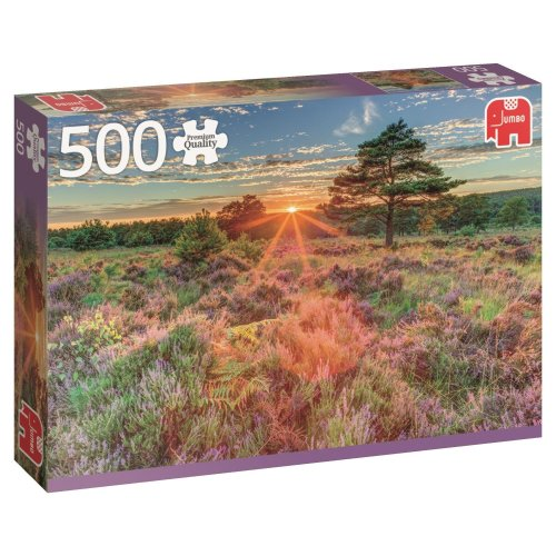 Jumbo 18524 Premium Collection Heather at Sunset 500 Piece Jigsaw Puzzle