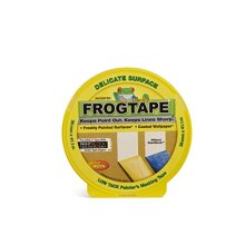 Frog Tape Yellow Delicate Surface Painters Masking Tape. Indoor Painting and Decorating For Sharp Lines and No Paint Bleed 36mm X 41.1m
