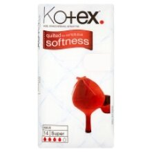 Kotex Maxi Super 14 Pads (4 x 14s)