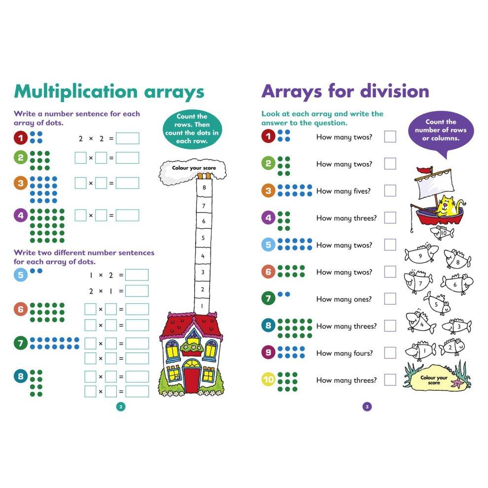 Multiplication & Division Quick Quizzes Ages 5-7 (Collins