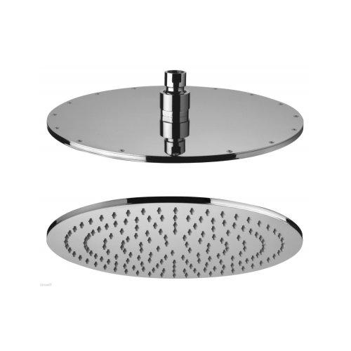 Shower head antilimestone inspection round 40 cm, brass