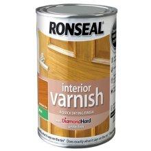 Ronseal RSLIVMAP250 250ml Quick Dry Matt Interior Varnish - Antique Pine
