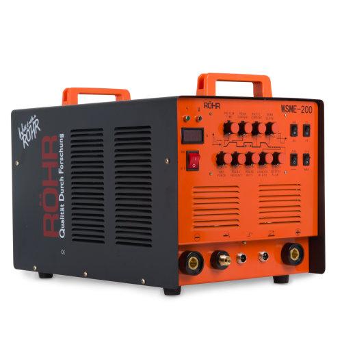 Rohr WSME-200 - ARC TIG Welder Inverter MMA Gas/Gasless 200 Amp AC/DC Welding Machine