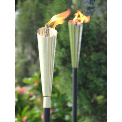 Garden Oil Torch Silver