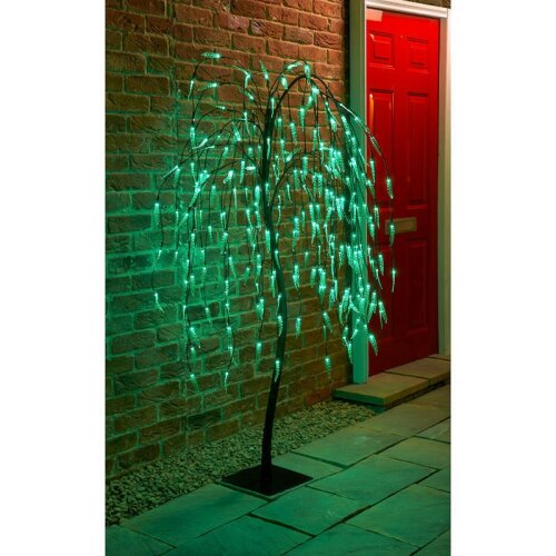 Solar Powered 5Ft Willow Tree With 240 LED Lights G-0170