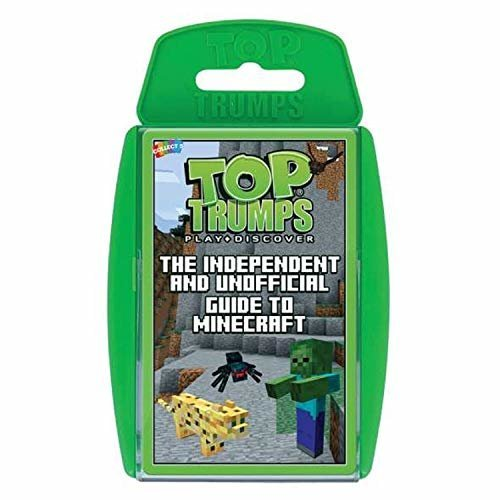 Top Trumps Independent and Unofficial Guide to Minecraft Card Game
