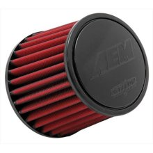 AEM 21-201DK DryFlow Air Filter, 2. 5 in. X 5 in.