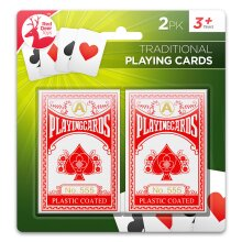 2pk Playing Cards Professional Poker Classic Cards for Adults