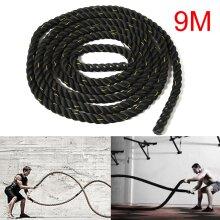 9M 50mm Battle Rope Battling Sport Power Ropes Gym Exercise Training