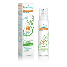 Puressentiel Purifying Air Spray 200 ml - Patented Formula - Air & Surfaces - 100% Natural Origin and Fragrance - Pure Essential Oils - Propellant G