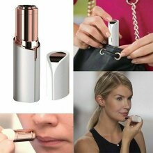 Flawless Facial Hair Remover, USB Rechargeable,18k Gold