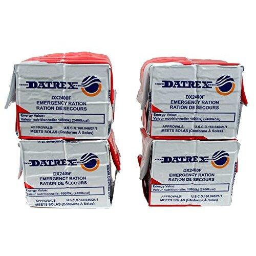 Datrex Emergency Survival 2400 Calorie Food Ration Bar 12 Bars