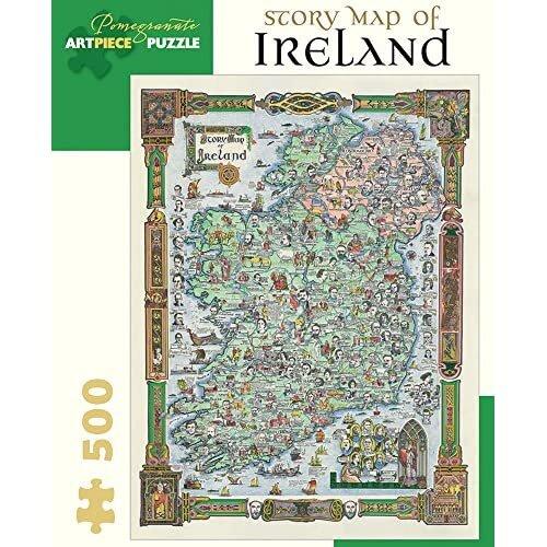 Story Map of Ireland 500-piece Jigsaw Puzzle