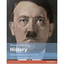Edexcel Gcse (9-1) History Weimar and Nazi Germany, 1918-1939 - Used