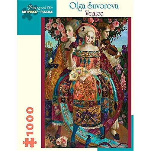 Olga Suvorova: Venice 1000-Piece Jigsaw Puzzle