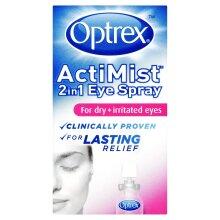 Optrex ActiMist 2-in-1 Eye Spray For Dry & Irritated Eyes - 10ml
