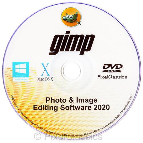 GIMP 2020  Photo Editor Professional Image Editing Software