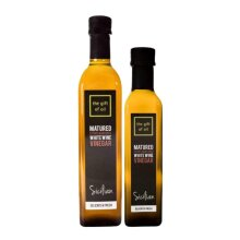 The Gift Of Oil Premium Sicilian White Wine Vinegar