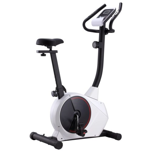 vidaXL Magnetic Exercise Bike with Pulse Measurement Fitness Cycle Hometrainer