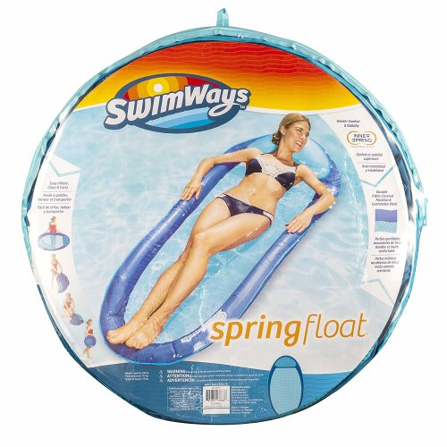 Swimways Springfloat Inflatable Pool Lounger