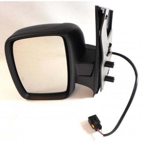 Citroen Dispatch 2007-> Electric Black Wing Mirror Single Glass Passenger Side