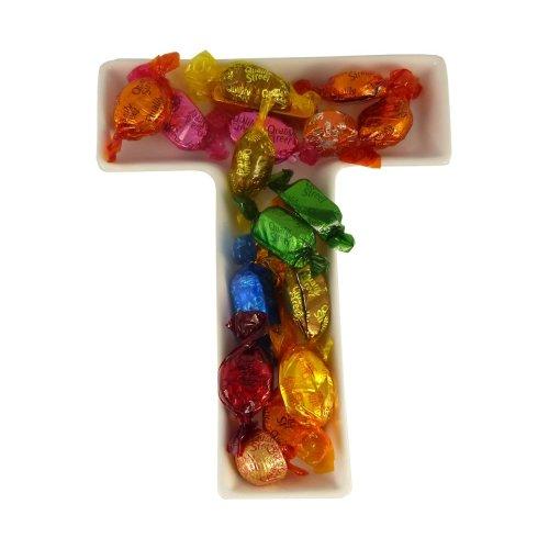 T Alphabet Dish