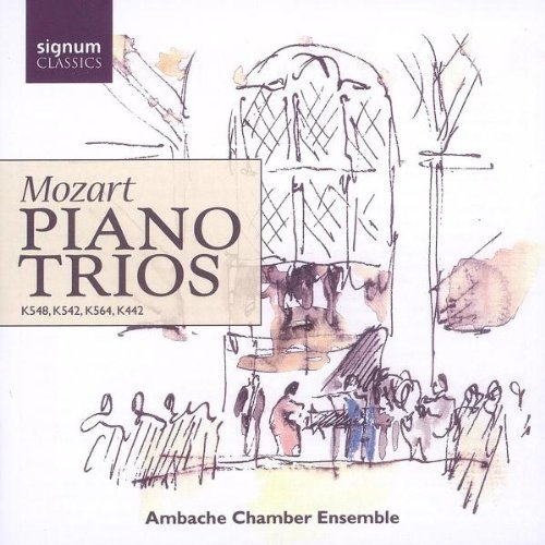 Wolfgang Amadeus Mozart - Mozart: Piano Trios K542, K548, K564, Triosatz K442 [CD]